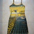 Salvador Dali DISINTEGRATION OF MEMORY Art Print Dress Size S Misses 4-6