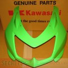 Kawasaki 55028-0153-777 Ninja 250R EX250 OEM UPPER COWLING LIME GREEN 2008-2012