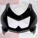 Kawasaki 55028-0153-H8 Ninja 250R EX250 OEM UPPER COWLING EBONY BLACK 2008-2012
