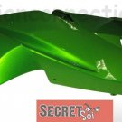 Kawasaki 55028-0235-15P Ninja 650R OEM Right UPPER Fairing CANDY LIME GREEN 2009 2010 2011