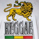 REGGAE AMBASSADORS WORLDWIDE New Roots Rasta Irie Dub T-Shirt L White