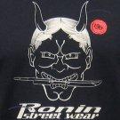 ONI Devil RONIN STREET WEAR Japan Tokyo Yakuza T-Shirt XXL Black BNWT!