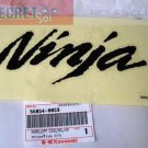 Ninja Kawasaki OEM Fairing Decal Sticker BLACK Genuine Part Number 56054-0059