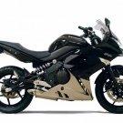 Kawasaki Ninja 650R ER6f ER6n OEM RH Right TAIL FAIRING Diablo Black 36040-0082-15Q 2009 2010 2011