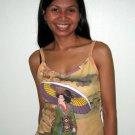 Utamaro Ukiyoe Japanese Geisha Japan Art Print Shirt Singlet TANK TOP Misses XL Extra Large