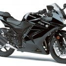 Kawasaki 36040-0114-H8 Ninja 250R EX250 OEM Left Tail Fairing EBONY BLACK 2008-2012