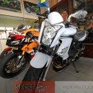 Kawasaki 14091-1558-15S ER6n OEM Meter Cover Pearl White 2009 2010 2011