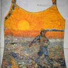 Van Gogh SEMINATORE COL SOLE Art TANK TOP Misses XL Extra Large