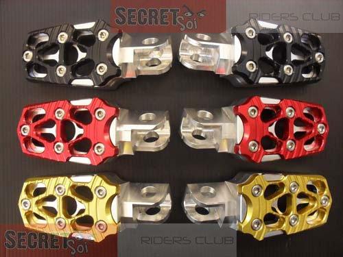 Kawasaki Versys New Billet Aluminum Footpegs Black Anodize 2010 2011 KLE 650