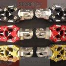 Kawasaki ER6n Billet Aluminum Footpegs Foot Pegs BRONZE Anodize 2010 2011 EX650