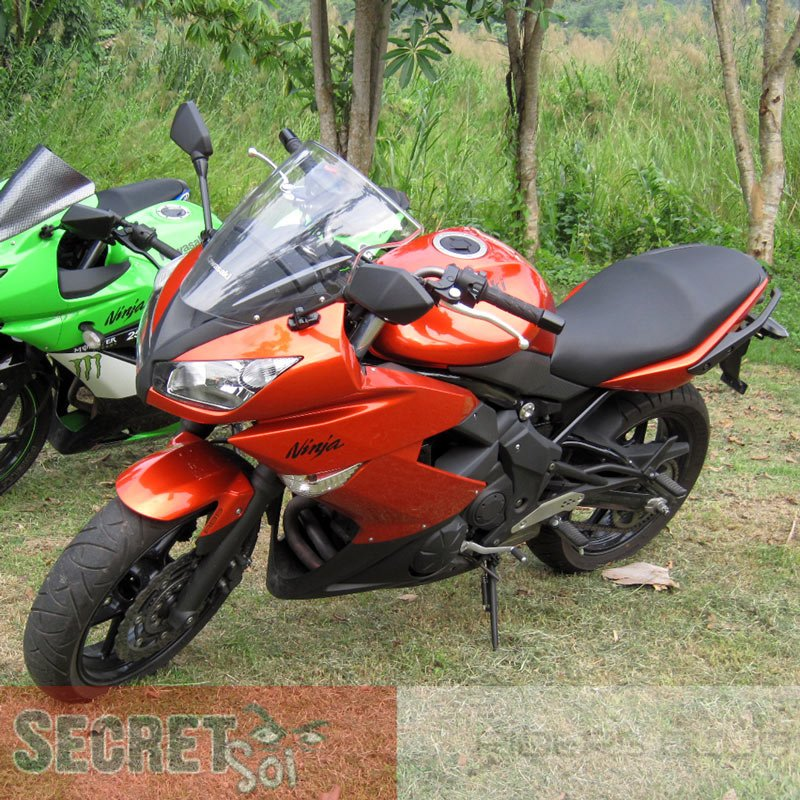 Kawasaki 36040-0081-15T Ninja 650R LH Left Tail Fairing Cowling ORANGE OEM 2009 2010 2011