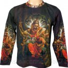 NARASIMHA VISHNU Hindu Art T Shirt LONG SLEEVE Mens XL Extra Large