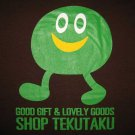 SHOP TEKUTAKU Lovely Goods Japan T-shirt Slim Fit Asian L Brown