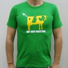 HOT BEEF INJECTION Cotton Punk T-shirt Slim Fit L Green