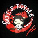 BATTLE ROYALE New T-shirt by CISSE Asian M Black BNWT!