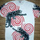PANTHER IREZUMI Short Sleeve Japan Yakuza Biker Tattoo T Shirt Unisex M Medium