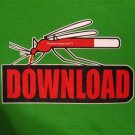 Mosquito DOWNLOAD New CISSE T-Shirt Asian XXL Green NWT Sale!