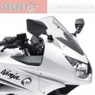 Kawasaki Ninja 250R EX250 55028-0153-G3 OEM UPPER COWLING Pearl White 2008-2011 Fairing