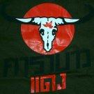 Thai CARABAO DAENG Red Buffalo New Thai T-shirt M Green