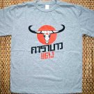 Thai CARABAO DAENG Red Buffalo New Thai T-shirt XL Gray