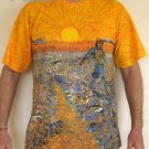 Van Gogh SEMINATORE COL SOLE Fine Art Print T Shirt MEN'S XL