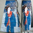 WINTER GEISHA New Japan Art Print Freesize Cotton Wrap Skirt S-XL