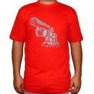 MEGATRON Transformers Decepticon Autobot T-shirt L Large Red