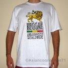 REGGAE AMBASSADORS WORLDWIDE Roots Rasta Irie Dub T-Shirt M White