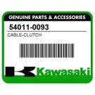 Kawasaki 54011-0093 OEM CLUTCH CABLE KLX KLX250S KLX250SF Genuine Part