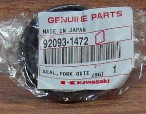 Kawasaki 92093-1472 Ninja 650R ER6n ER6f SEAL Fork Outer Tube Genuine OEM 2006-2011