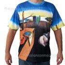 PERSISTENCE OF MEMORY Fine Art Print SALVADOR DALI T Shirt Men's M Medium