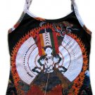 KANNON Buddhist Goddess of Mercy PN Art Print Tank Top Misses S Small