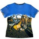 DADDY LONGLEGS Salvador Dali HOPE Fine Art Print Short Sleeve T Shirt Misses Size L