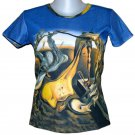 DADDY LONGLEGS Salvador Dali HOPE Fine Art Print Short Sleeve T Shirt Misses Size S