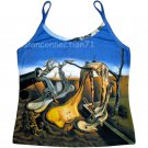 DADDY LONGLEGS Evening HOPE Salvador Dali Art Print Singlet TANK TOP Misses Size L