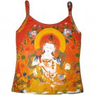 GUANIM Buddhist Goddess of Mercy Art Print Shirt Singlet TANK TOP Miss M Medium