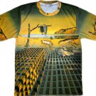 DISINTEGRATION OF MEMORY Salvador Dali Fine Art Print T Shirt Men's Size XL
