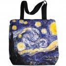 Van Gogh STARRY NIGHT Fine Art Print Bag Sling Purse Messenger Tote S Small