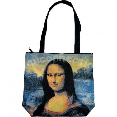 MONA LISA Leonardo Da Vinci Fine Art Print Bag Sling Purse Tote S