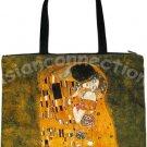 KISS Gustav Klimt Art Print Bag Purse Messenger Tote L Large