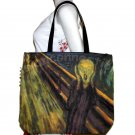 SCREAM Edvard Munch Art Bag Sling Purse Tote Messenger Large L