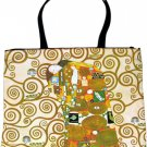 Gustav Klimt THE EMBRACE Art Bag Purse Messenger Tote L Large