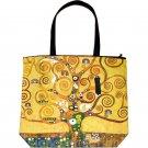 TREE OF LIFE Gustav Klimt Art Print Bag Purse Tote L Large