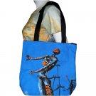 BURNING GIRAFFE Salvador Dali Fine Art Print Bag Purse Tote S Small