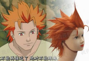 Naruto Jyuugo Cosplay Wig