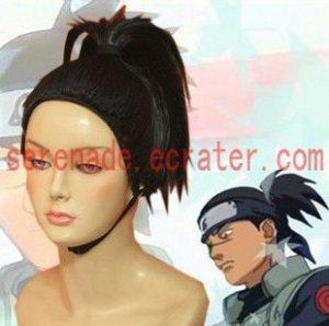 Naruto Umino Iruka Cosplay Wig