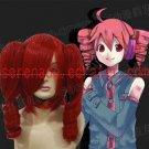 Vocaloid kasane teto red Cosplay wig