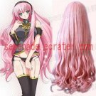 Vocaloid megurine Luka Light pink cosplay wig