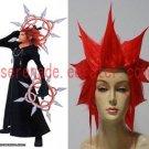 Kingdom Hearts Axel flame cosplay wig