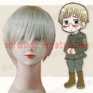 Hetalia Axis Powers Edward Von bock cosplay wig